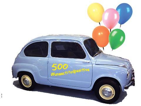500 en una actitud positiva