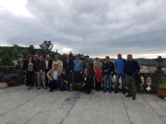 Foto grupo Ayuntamiento de Santiago